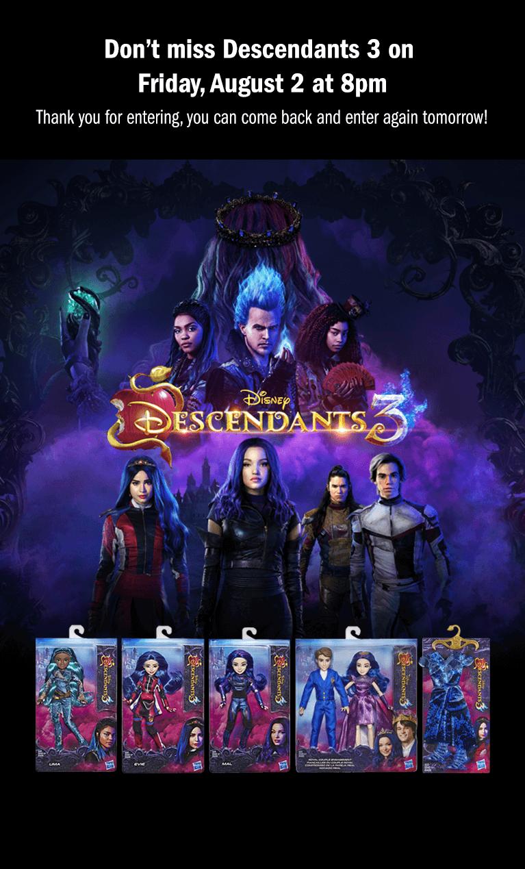 Descendants 3 - Enter | Disney Channel Contest